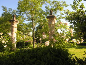 Colonnes du jardin